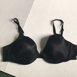 Victoria's Secret BBV Black shaping demi bra 36B